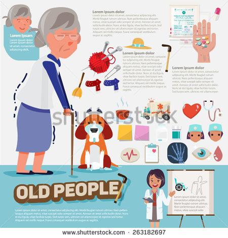 Elderly Care Stock Vectors, Images & Vector Art.