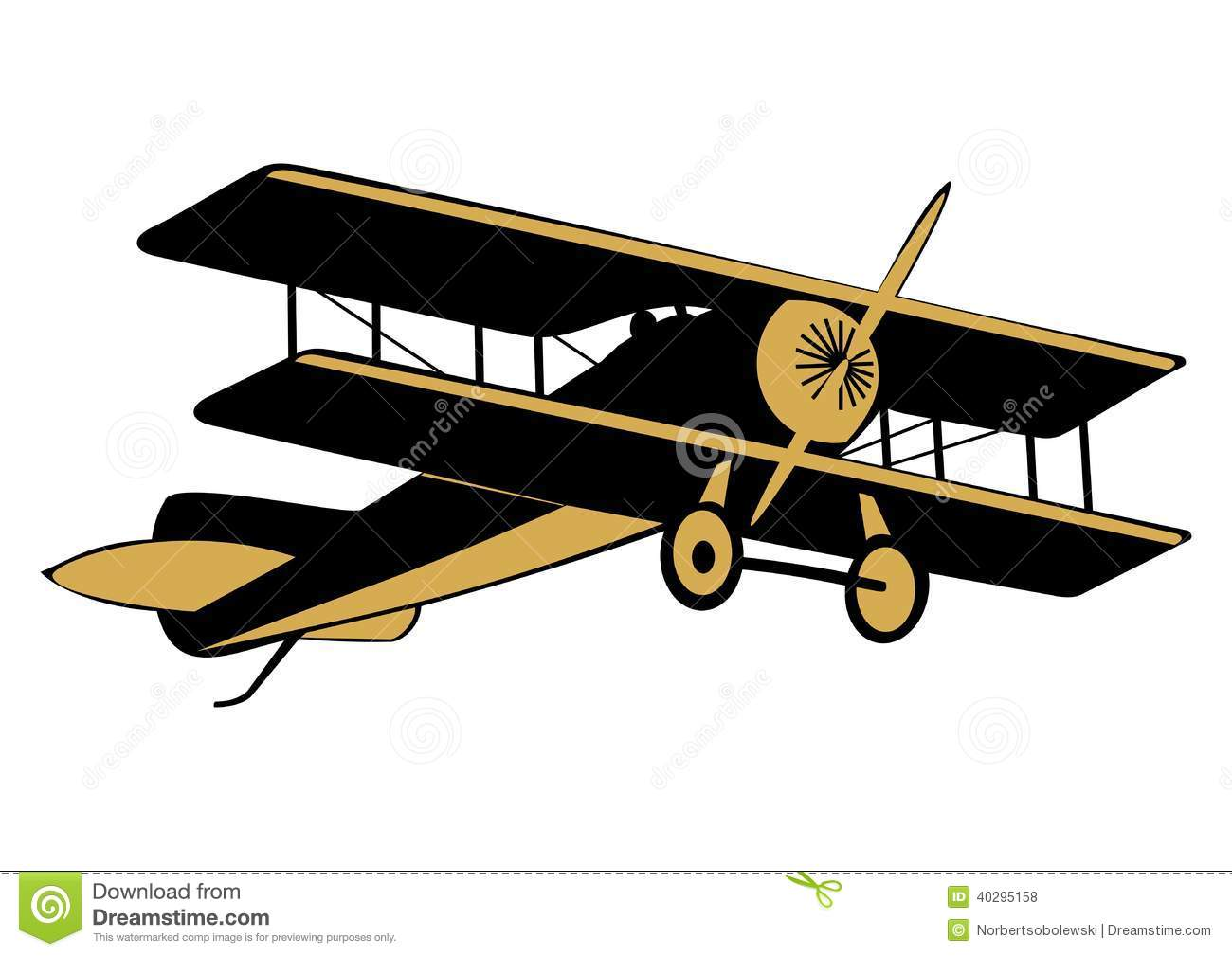 Old airplane clipart » Clipart Station.