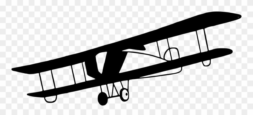 Plane Transparent Old 4 Clip Art Airplane.