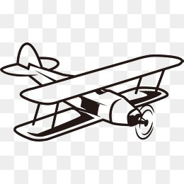 Old fashioned airplane clipart 8 » Clipart Portal.