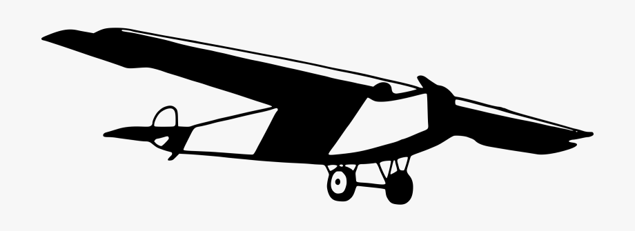 Old Plane Clipart.