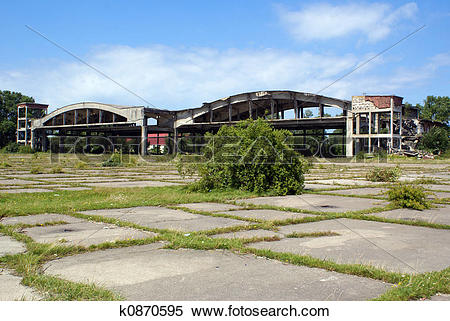 Stock Image of Old airport k0870595.