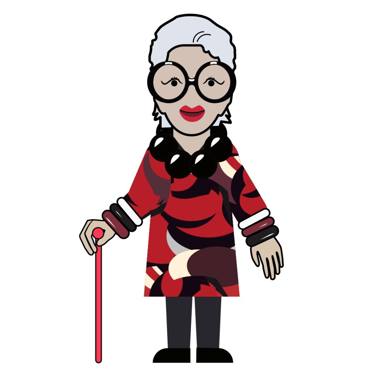 Updated] Iris Apfel Emojis Are Happening.
