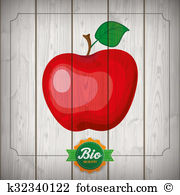 Apfel Illustrations and Clip Art. 7 apfel royalty free.