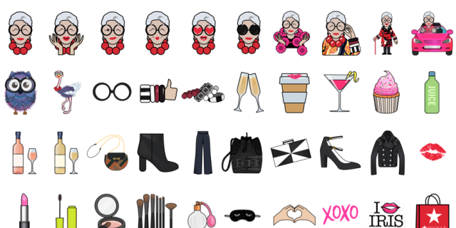 The New Iris Apfel Emojis Are Everything.