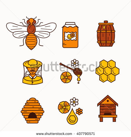Beehive Stock Images, Royalty.