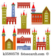 Old architecture Clipart Vector Graphics. 19,550 old architecture.
