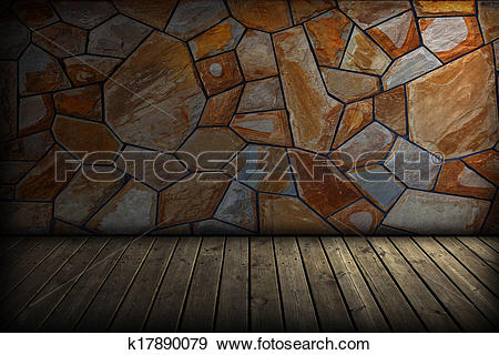 Stock Photograph of Old Attic k17890079.