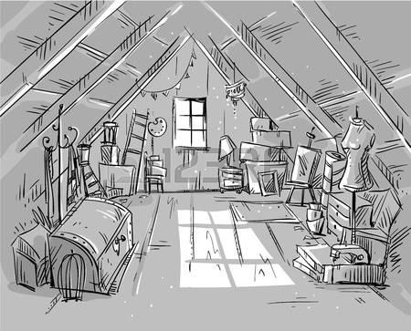 Free attic clipart.
