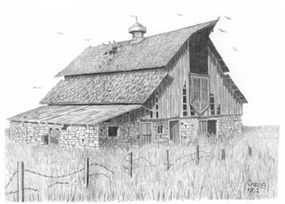 Free Old Barn Clipart.