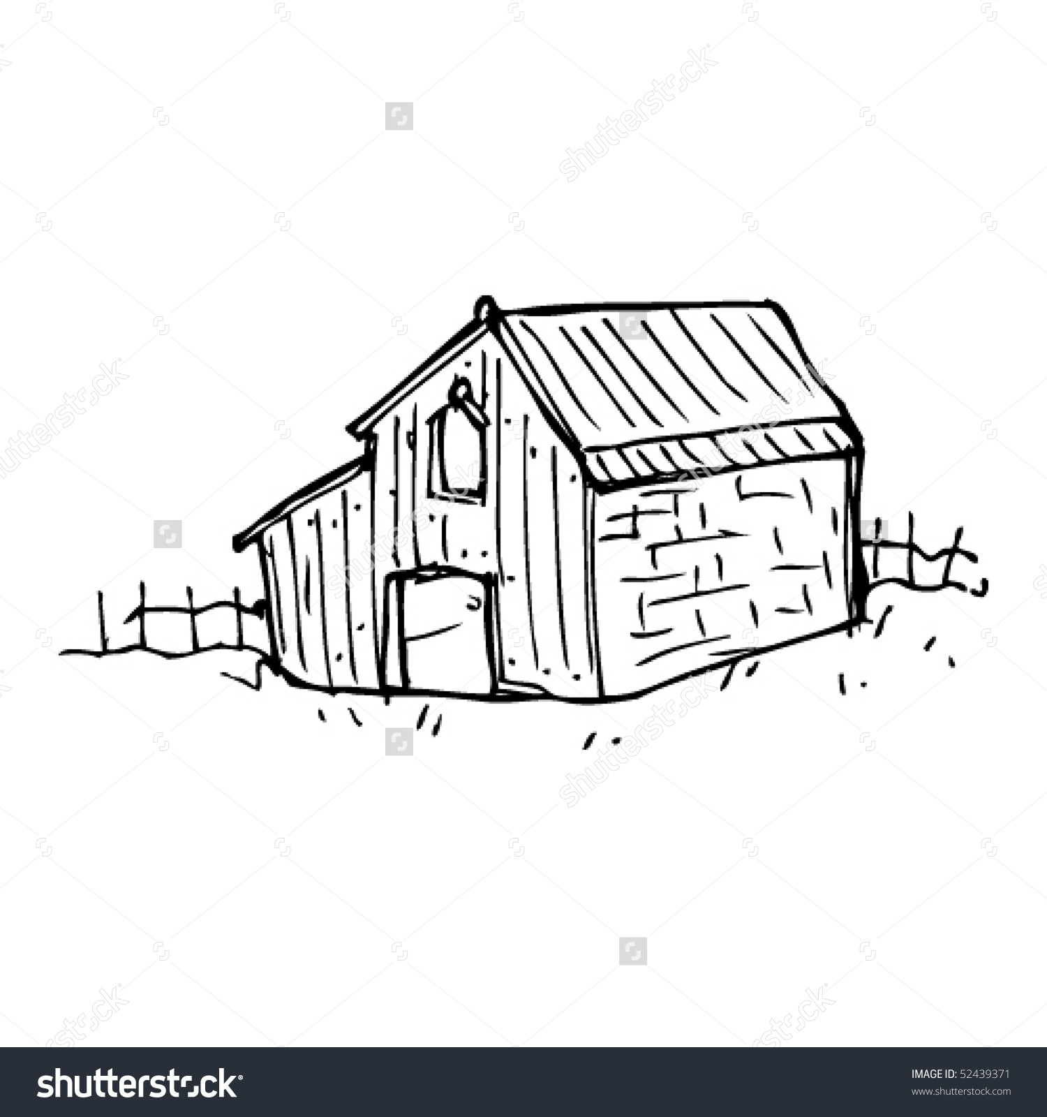 Showing post & media for Cartoon old barn.