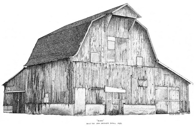 Old Barn Clipart.