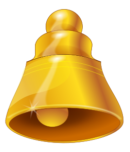 Old bell Clipart, vector clip art online, royalty free design.