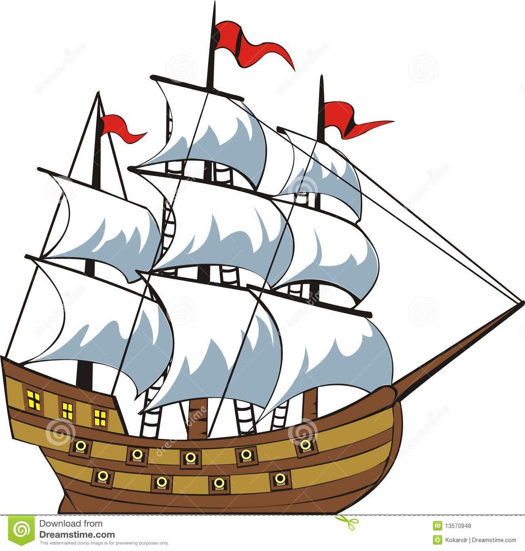 The Sailing Ship Clipart