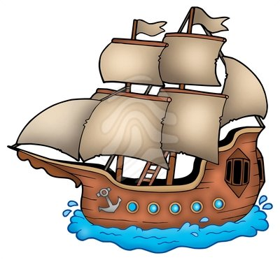 Old Boat Clipart.