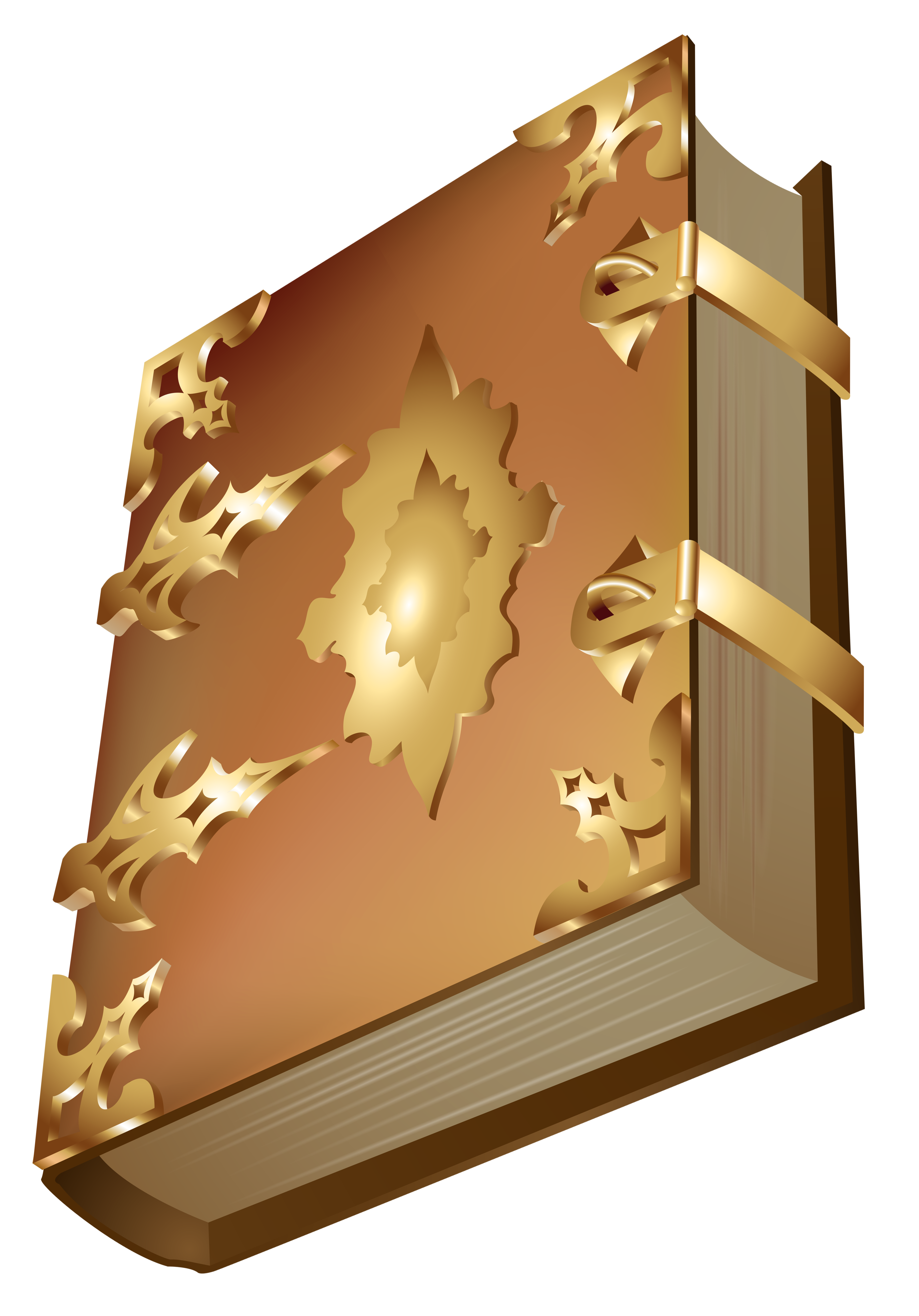 Luxury Old Book PNG Clipart.