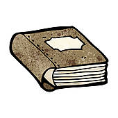 Old Book Clip Art.