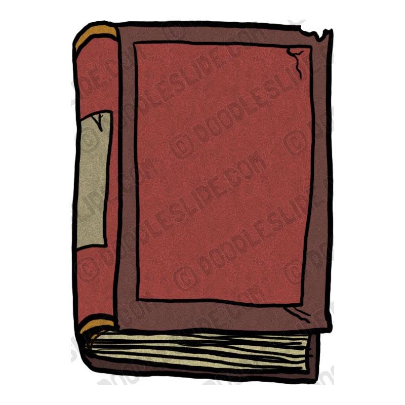 Antique Book Clipart.