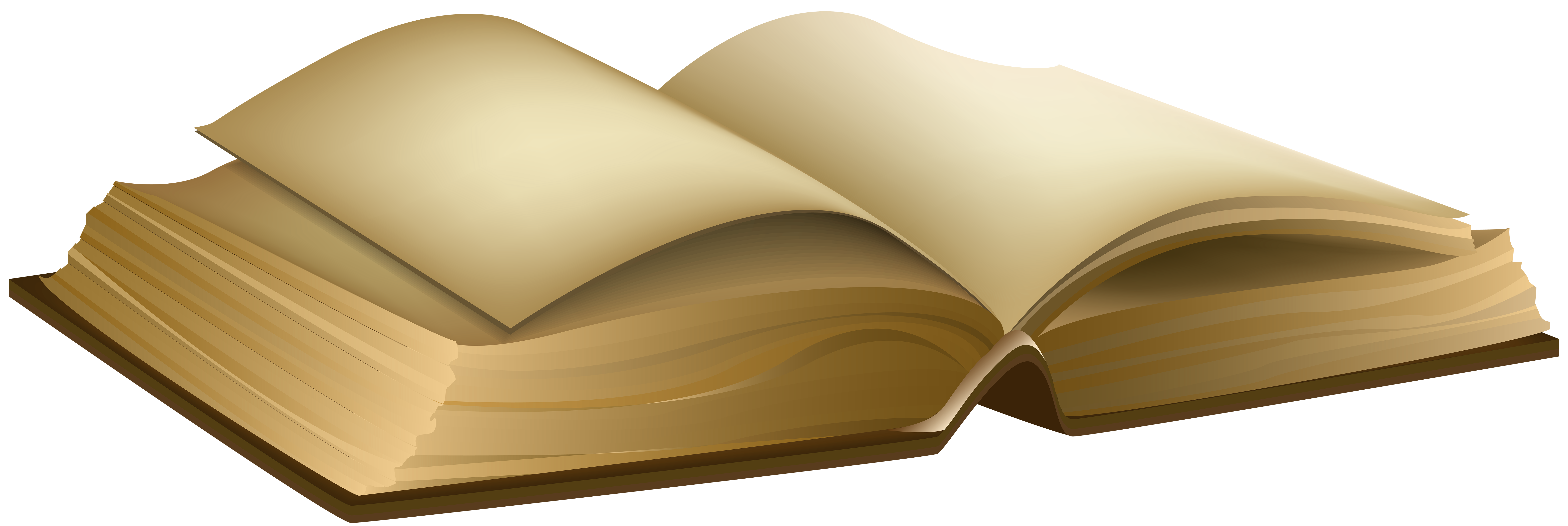 Old Book PNG Clipart Image.