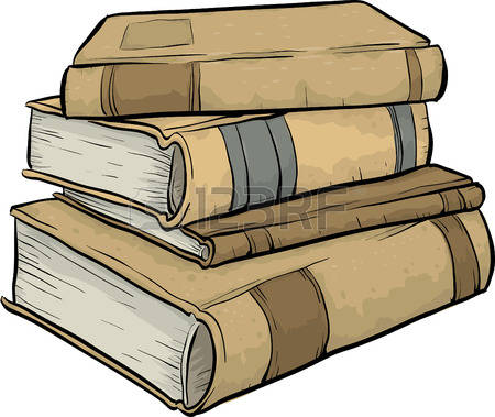 732 Pile Of Old Books Stock Illustrations, Cliparts And Royalty.
