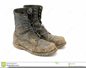 Old Boots Clipart.
