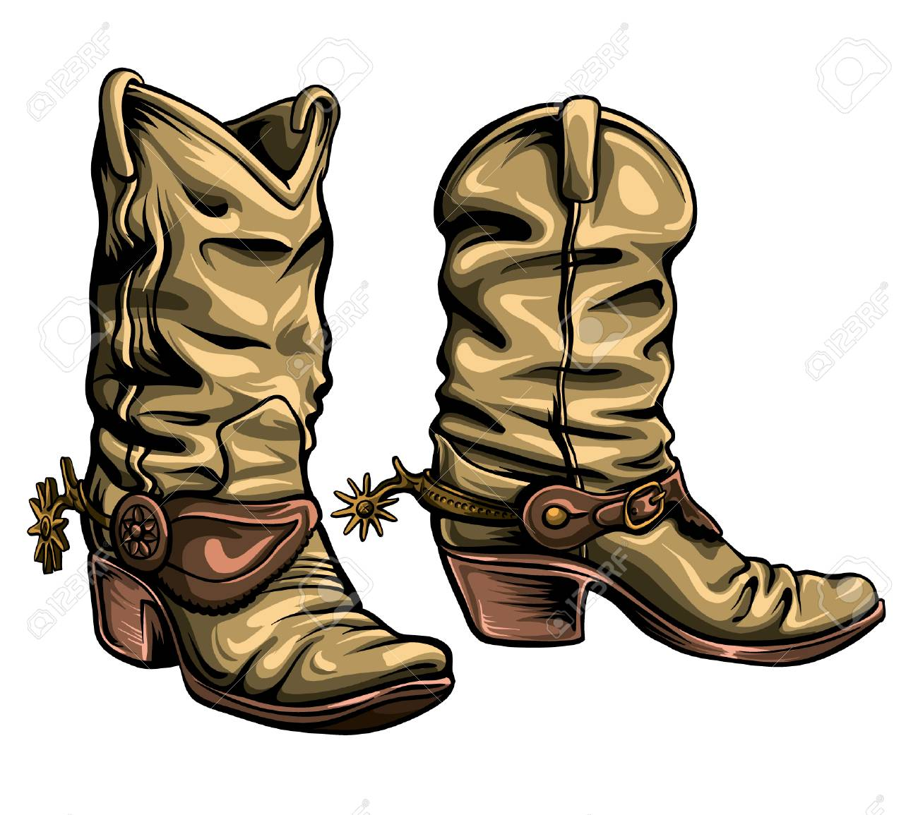 Free Drawn Boots old boot, Download Free Clip Art on Owips.com.