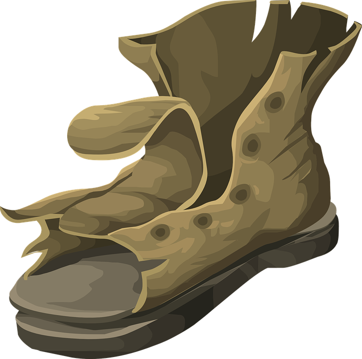 Free vector graphic: Boot, Worn, Footwear, Old, Rough.