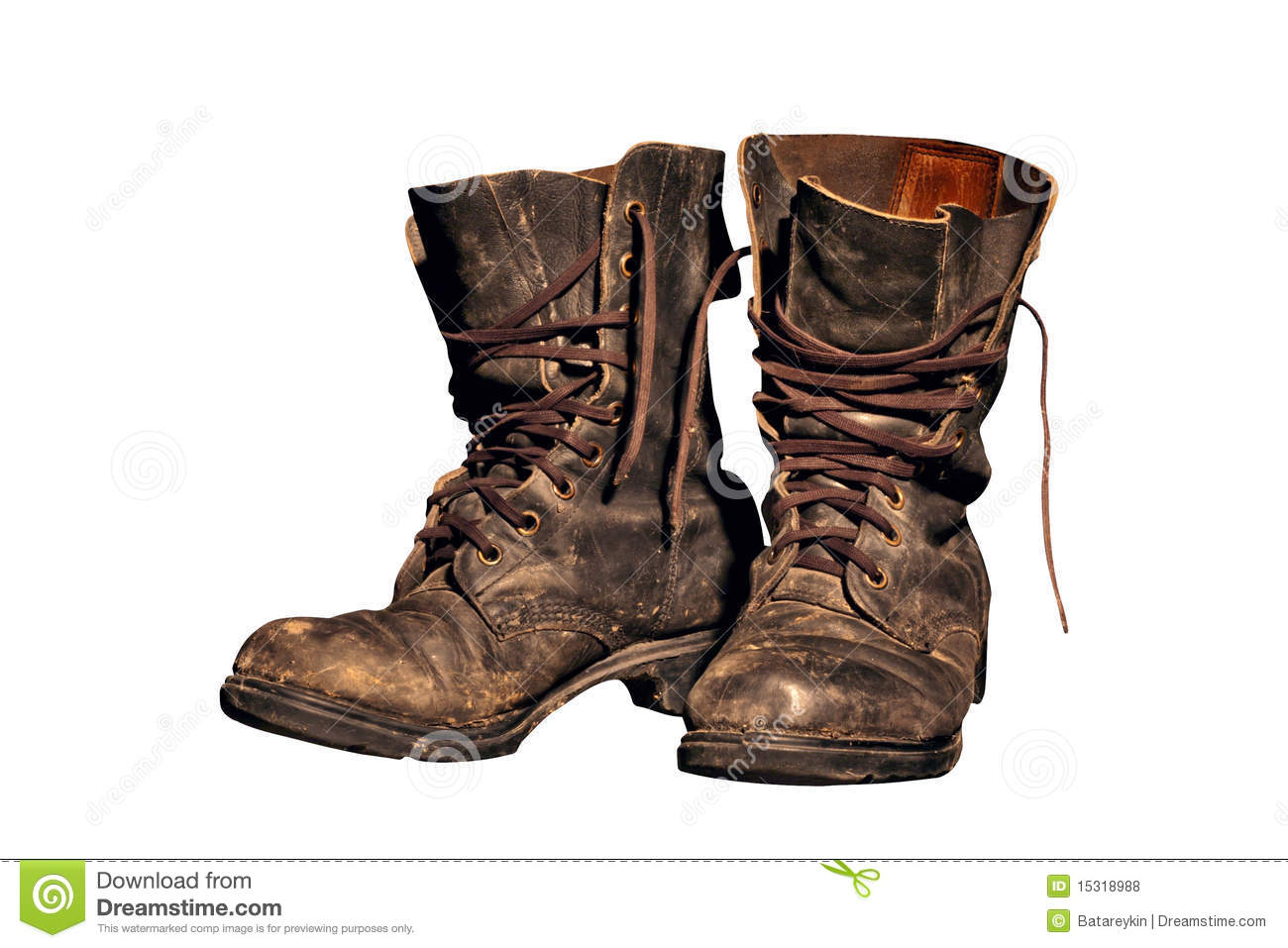 Worn Work Boots Stock Photos, Images, & Pictures.