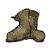 Old boot Clip Art Vector Graphics. 1,948 old boot EPS clipart.