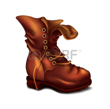 2,654 Hiking Boots Stock Vector Illustration And Royalty Free.