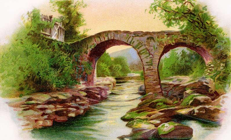 Old Bridge Clipart.