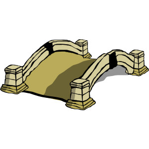 Image of bridges clipart 1 old bridge clip art free vector.