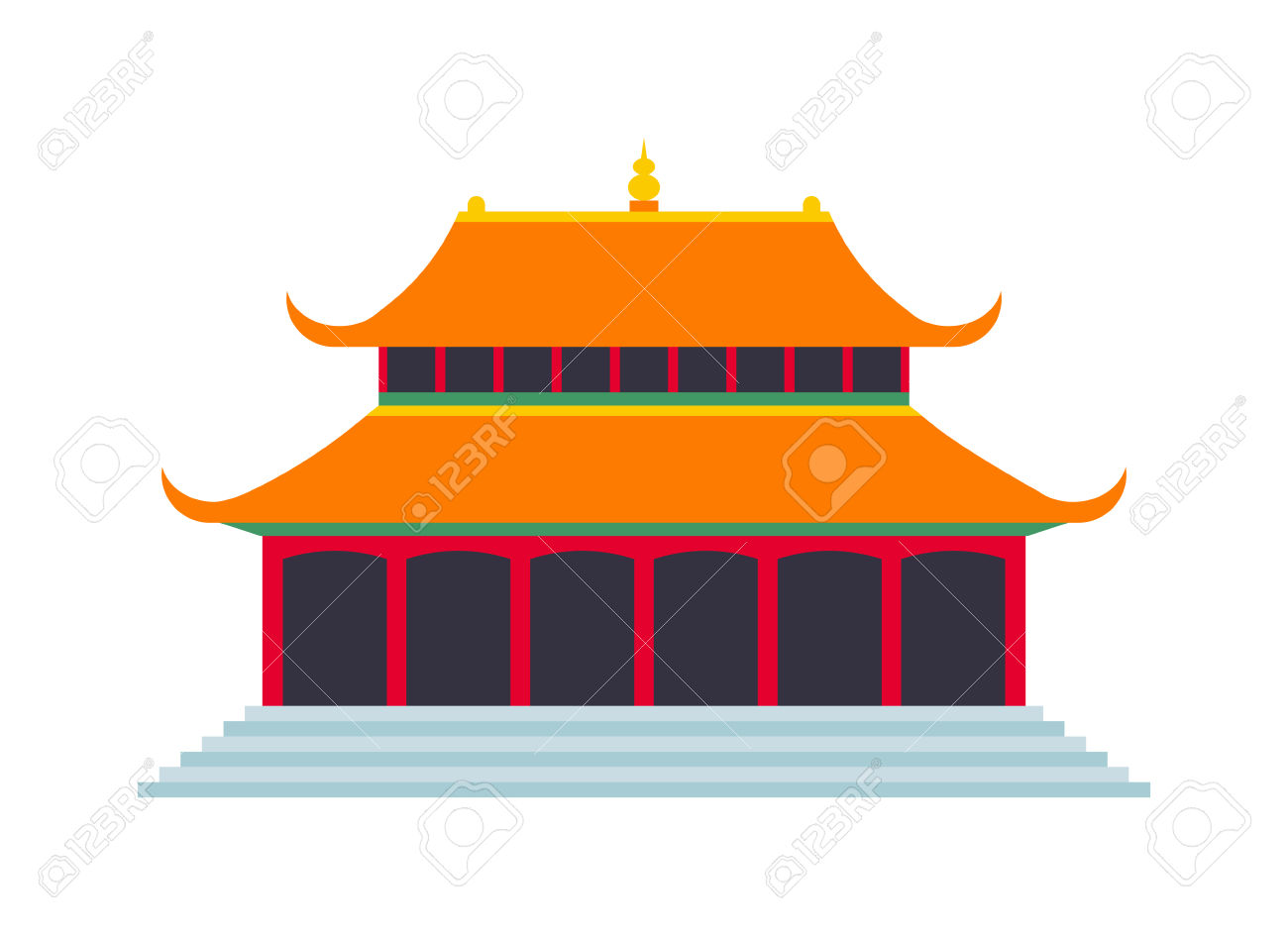 Chinese Temple Asia Culture Architecture And Travel Ancient.