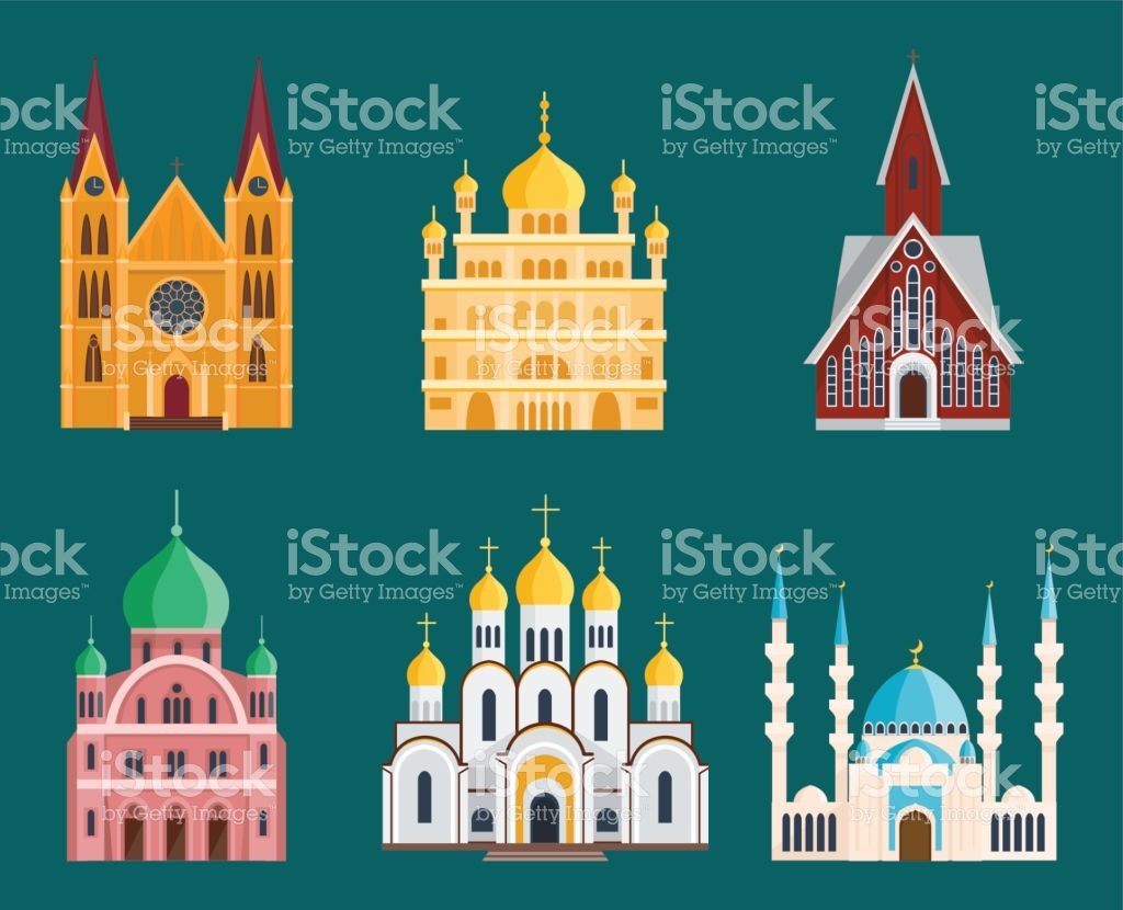 Cathedral Churche Temple Building Landmark Tourism World Religions.