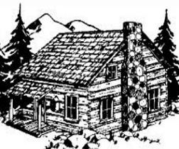 Log Cabin Clip Art & Log Cabin Clip Art Clip Art Images.