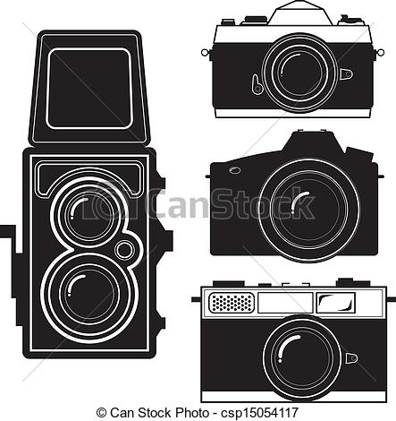 Vintage camera Clip Art Vector Graphics. 12,087 Vintage camera EPS.