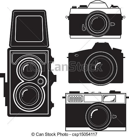 Vintage camera Clip Art Vector Graphics. 12,087 Vintage camera EPS.