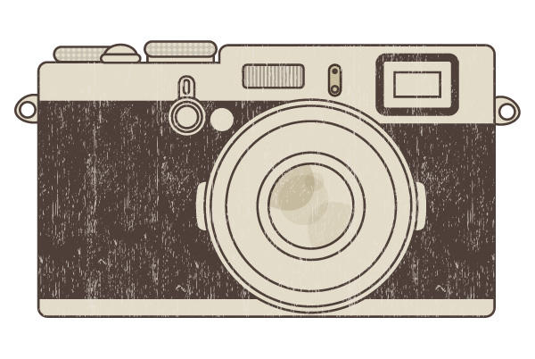 Old Camera Clip Art.
