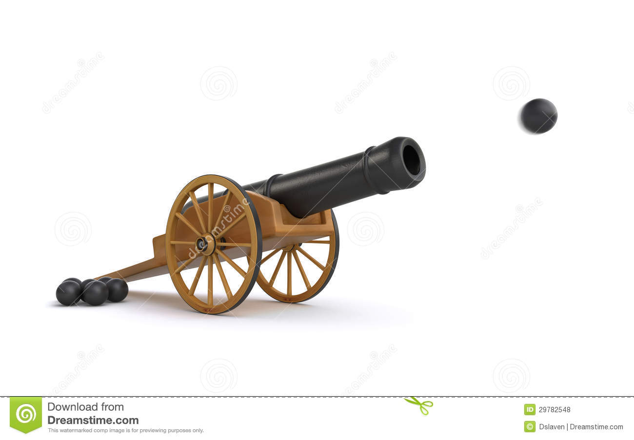 Cannon clipart no background.