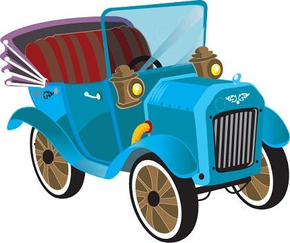Free Free Vector Old Cars Clipart and Vector Graphics.