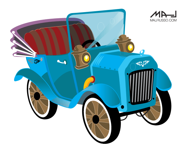 Showing post & media for Cartoon old car clip art.