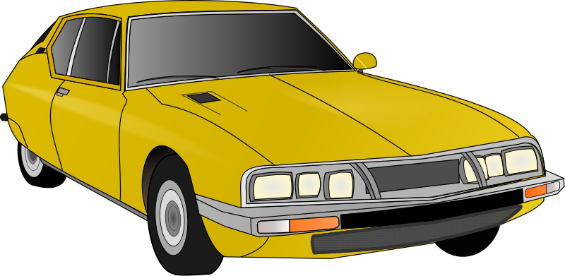Old cars clipart #20