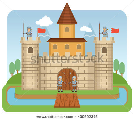 Castle Tower Stock Photos, Royalty.