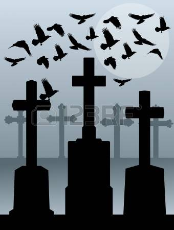 4,259 Old Cemetery Stock Vector Illustration And Royalty Free Old.
