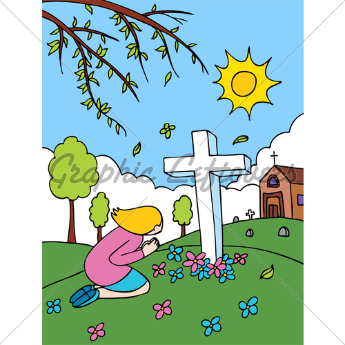 Cemetery Clipart.