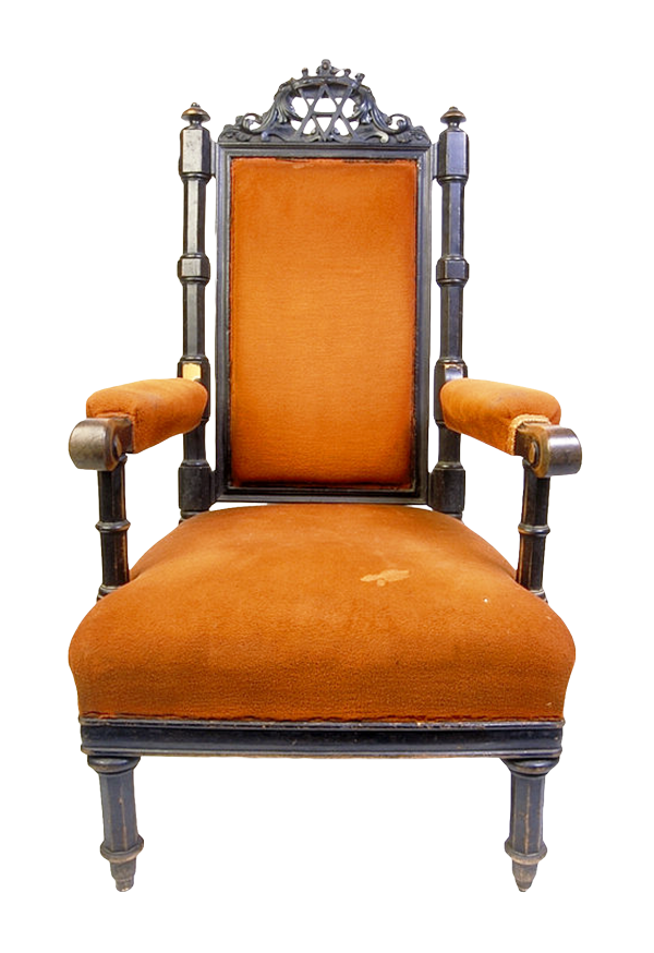Old Chair PNG Image.