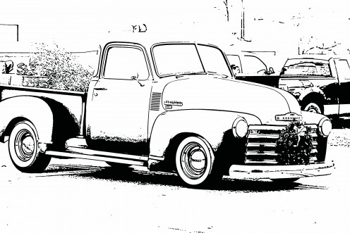 Free coloring sheets pictures of vintage cars for kids. Bring a.