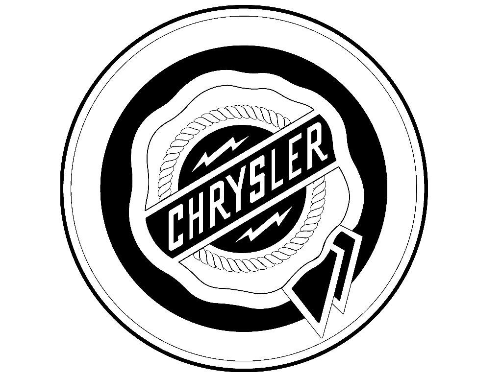 Old chrysler Logos.