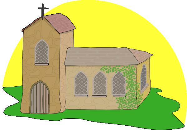 Medieval Church Clipart.