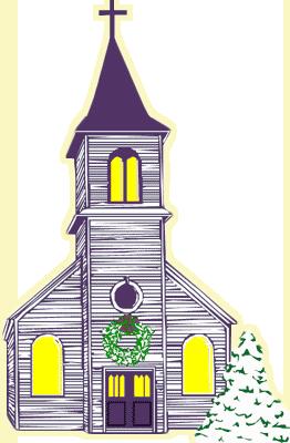 Free Christmas Church Clip Art.